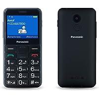 """Panasonic KX-TU150EXB - Teléfono Móvil Dual SIM (Pantalla de 2.4"""", Memoria hasta 32 GB, Botón de Emergencia) Negro"""