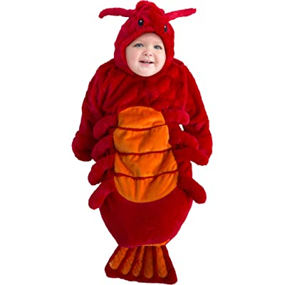 LF Centennial Pte. Infant Buntington Lucky Lobster Costume 0/9Months Red: Clothing