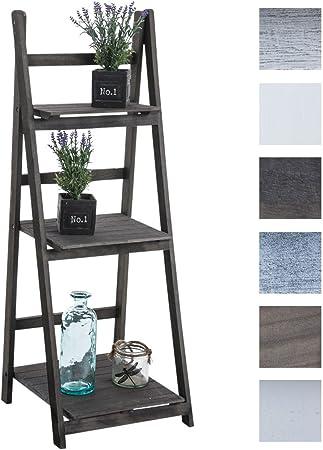 ESTILO: La estantería de escalera Yana cuenta con un diseño moderno inspirado en un estilo rústico,