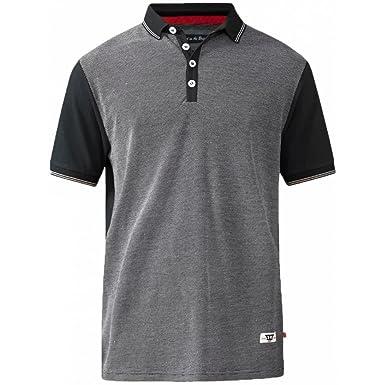 Duke Fashion Polo Shirt 6XL BLACK: Amazon.es: Ropa y accesorios