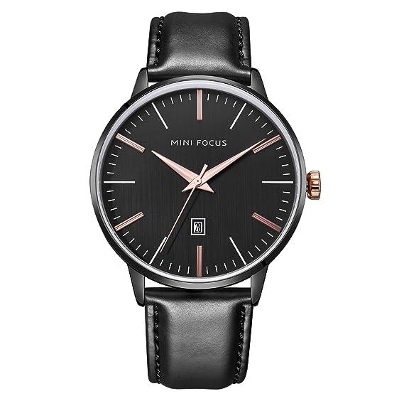 finest selection f7088 f6336 Amazon | mini focus うで時計 メンズ ビジネスカジュアル ...