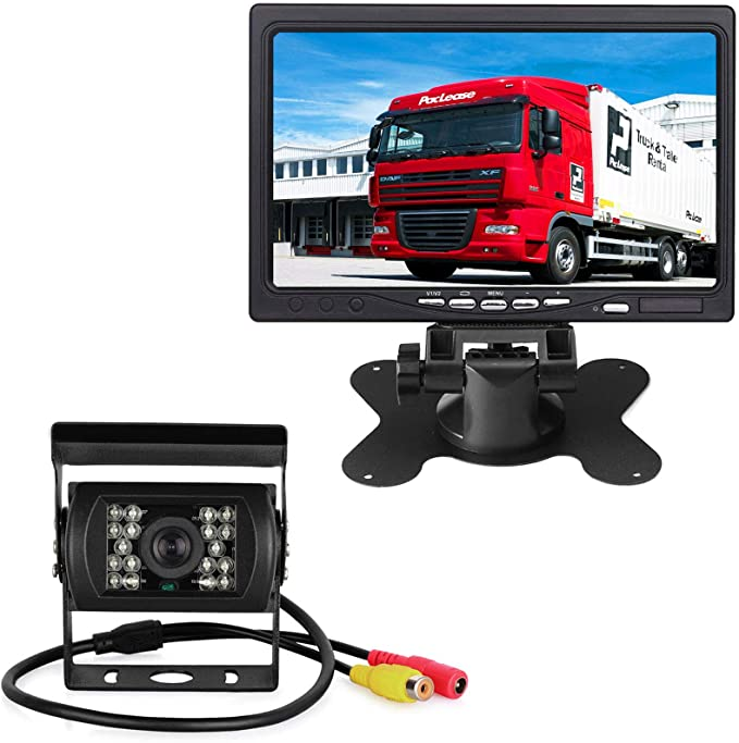 Car Parking Aid Camera System 12 V 24 V 7 Inch Tft Elektronik