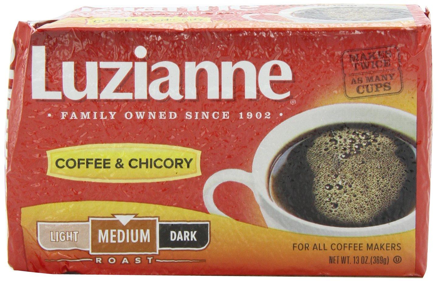 Chicory Coffee Amazoncom Luzianne Red Label Coffee Chicory Medium Roast