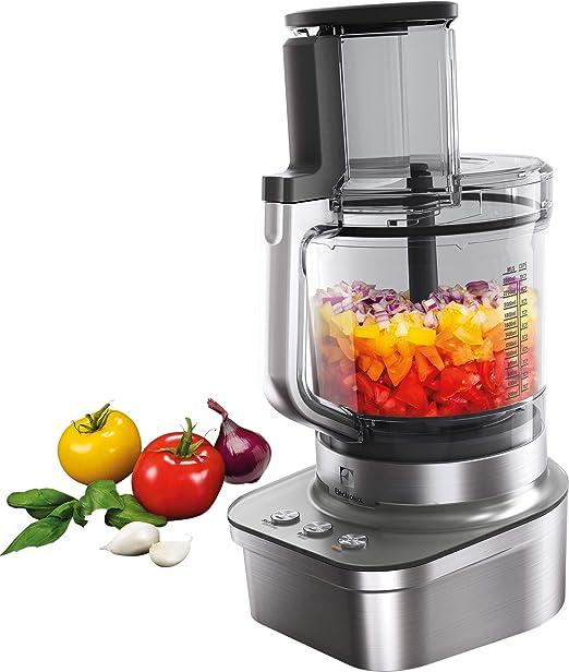 Electrolux EFP9400 - Robot de cocina (4,2 L, Metálico, 1 m, De plástico, Titanio/acero inoxidable, 1200 W): Amazon.es: Hogar