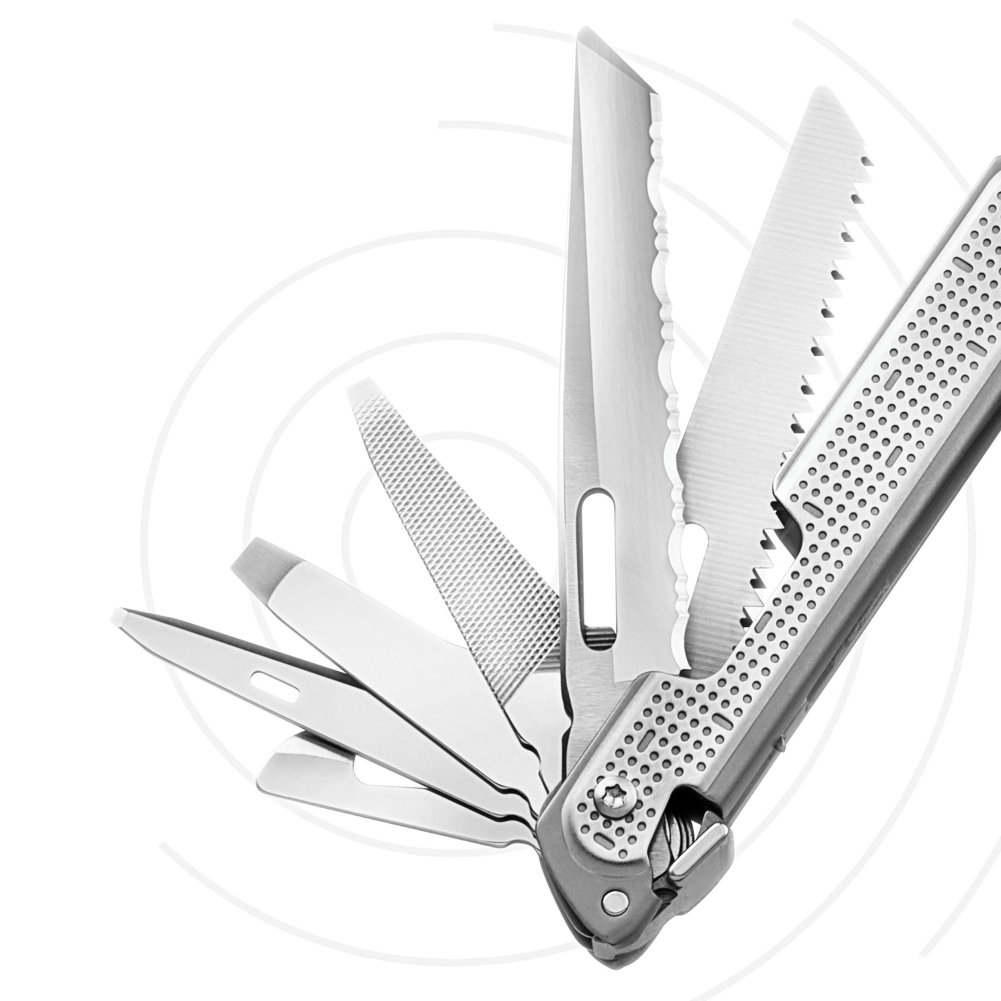 LEATHERMAN - FREE P4 Multitool with Magnetic Locking, One Hand Accessible Tools and Premium Nylon Sheath by LEATHERMAN (Image #9)