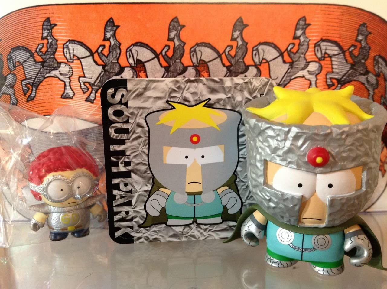 "Kidrobot Southpark South Park Professor Chaos 3/"" Figure Series 1"