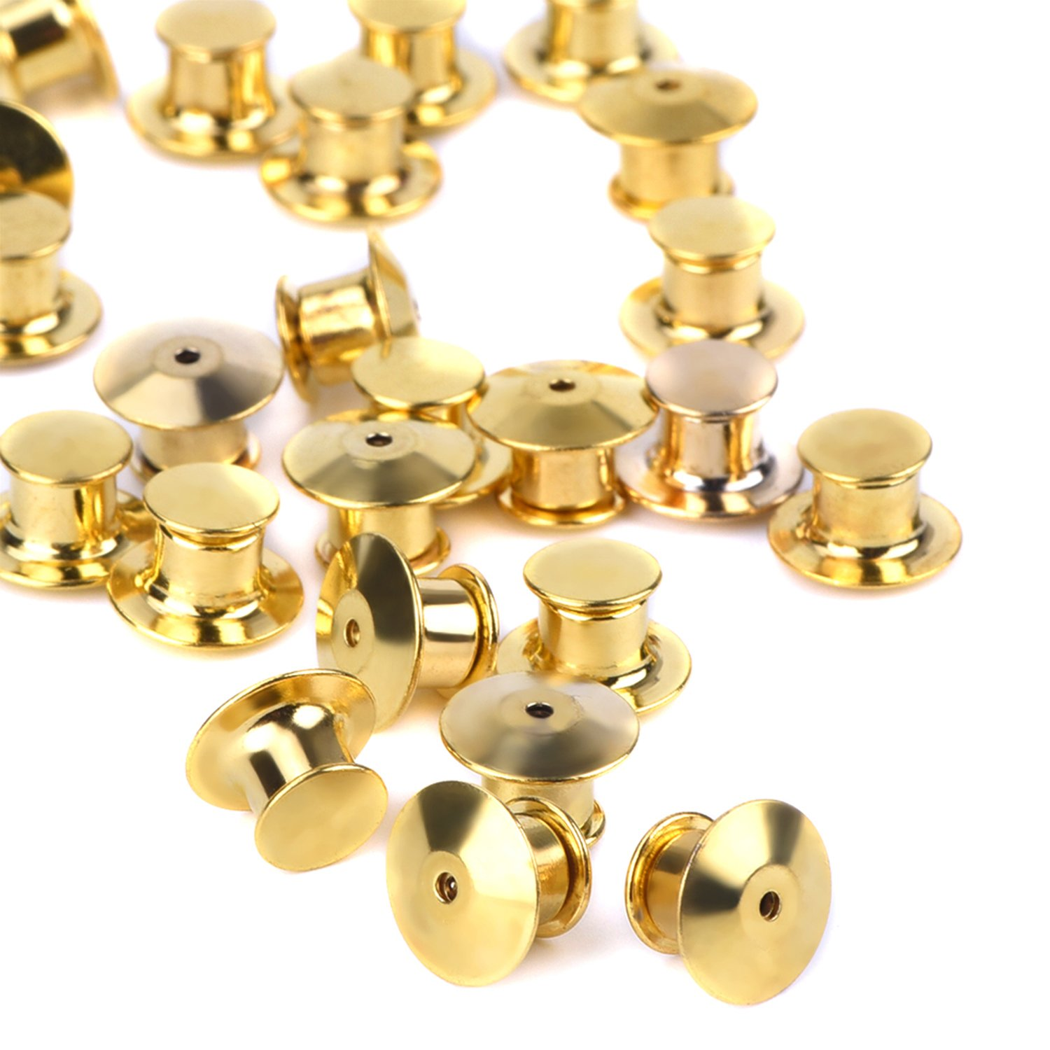 eBoot 30 Pieces Golden Locking Pin Keepers Backs, No Tool Required 4336833810