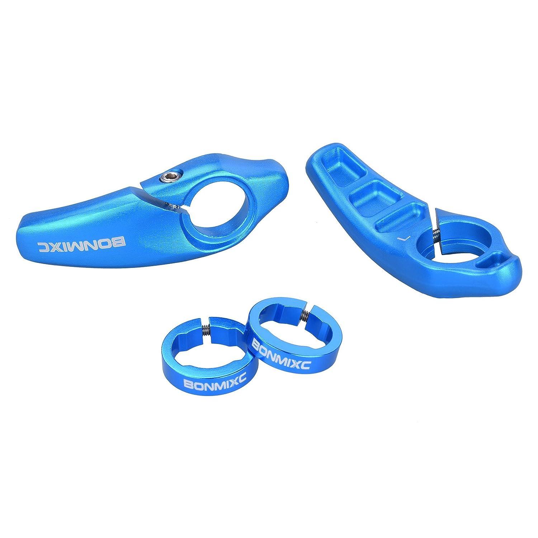 BONMIXC Ergonomic Design Bike Grips Aluminum Alloy Locking Ring Bike Handlebar Grips for MTB BMX Floding Bike Aluminum Alloy Locking Ring Bike Grips for MTB BMX Folding Bike