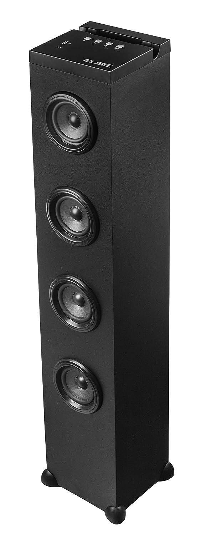 Elbe TW-200-BT - Torre de Sonido (Bluetooth, FM / SD / USB, 20 W) Color Negro: Amazon.es: Electrónica