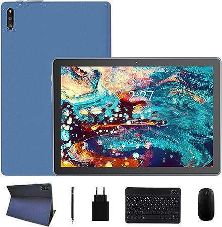 ZONMAI MX2 Tablet 10.1 Pulgadas Android 10.0 | Tableta 5G WiFi Ultrar-Rápido Quad-Core 1.6GHz 4GB RAM + 64GB ROM | 8000mAh Bluetooth 5.0 GPS Type-C ...