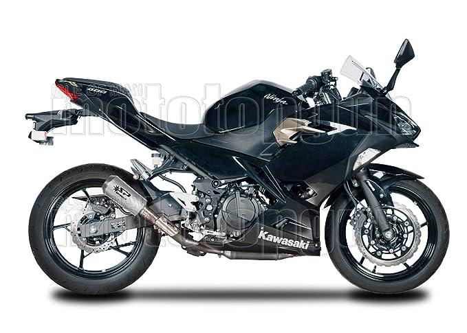 SPARK ESCAPE RACE TITANIO MOTOGP MOTO-GP KAWASAKI NINJA 400 ...