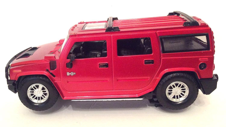 Braha GM Hummer H2 Red 1 24 Licensed Friction Car