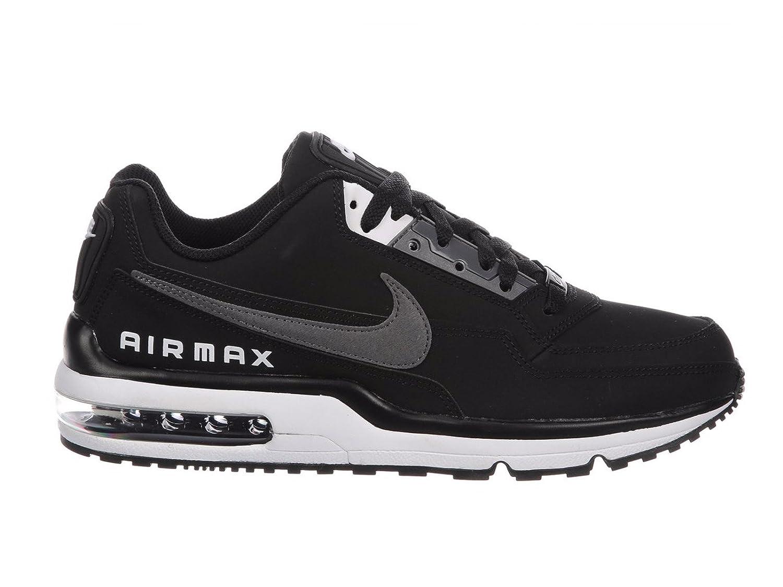 Nike Hommes Air Max LTD 3 Chaussures de course Noir/Dark Gris/Blanc Expédition rapide 43G470