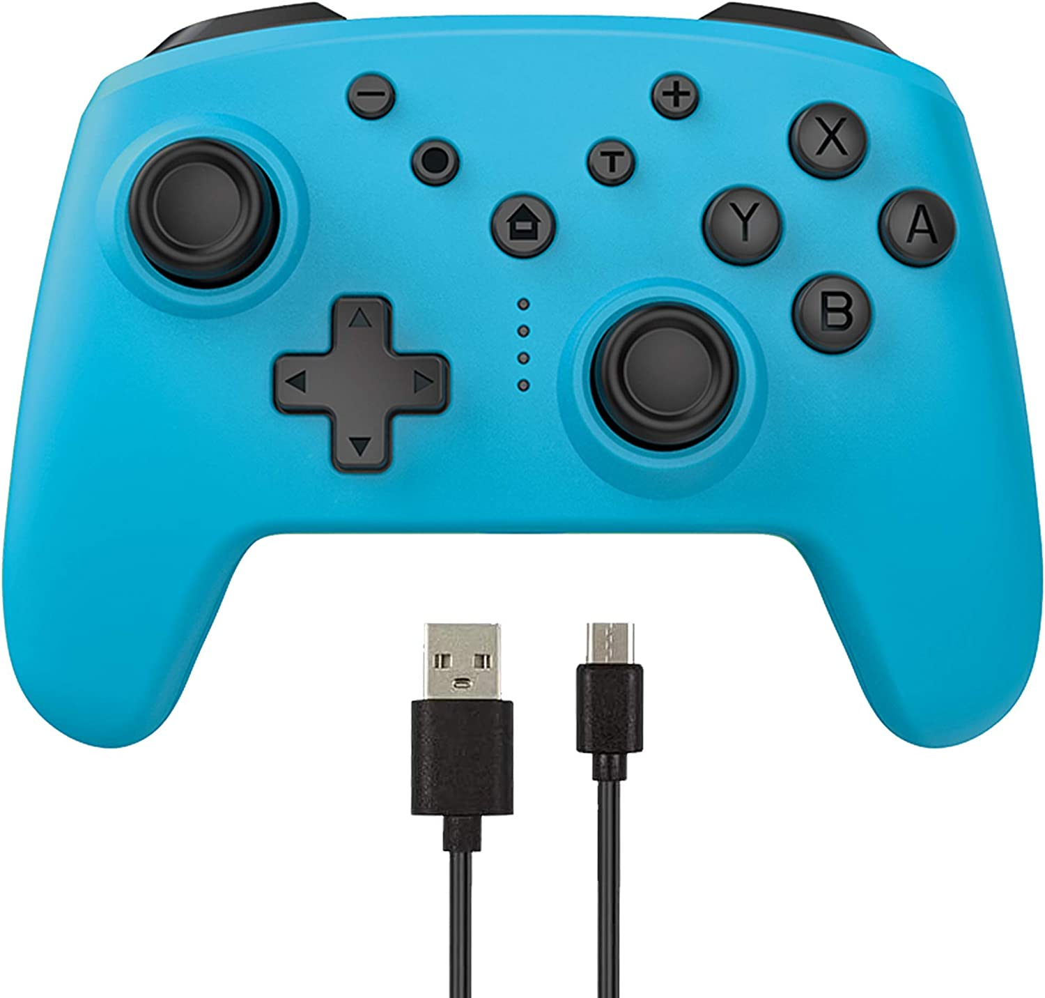 Arrocent Wireless Pro Controller for Switch/Switch Lite – Blue