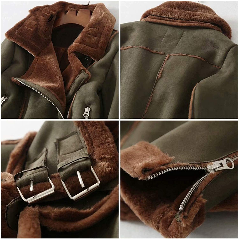 Faux Leather Jacket Women Winter Jacket Coat with Fur Woman Jacket Leather Winter Coat