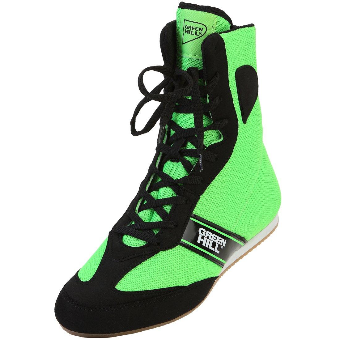 Grün Hill Boxschuhe Boxing schuhe,Boxerschuhe High-Top Boxing Stiefel Stiefel Boxing Boxen Stiefel,Boxing Training Stiefel Trainingsschuh for Boxing Professional Training. 29f76f