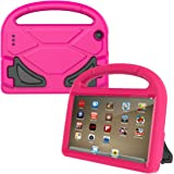 Fire 7 2015 Case,Tinkle ONE Kids Case Shockproof Light Weight Drop Protection Children EVA Case Cover for Amazon Fire 7 Tablet (7 inch Display 5th Generation,2015 Release Only) (Pink )