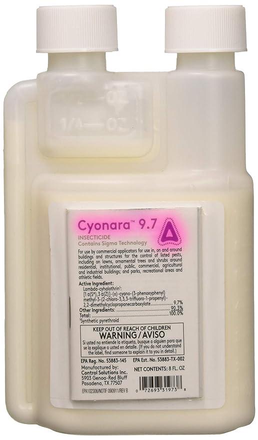 Amazon Control Solutions 31973 Cyonara 97 Insecticide 8