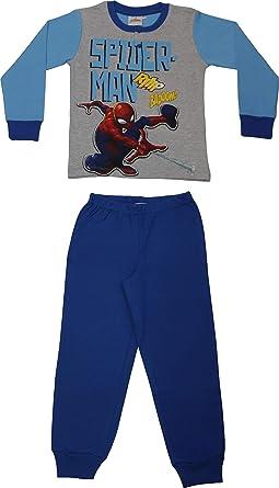 Pijama Disney Spiderman hombre araña niño 100% algodón ...