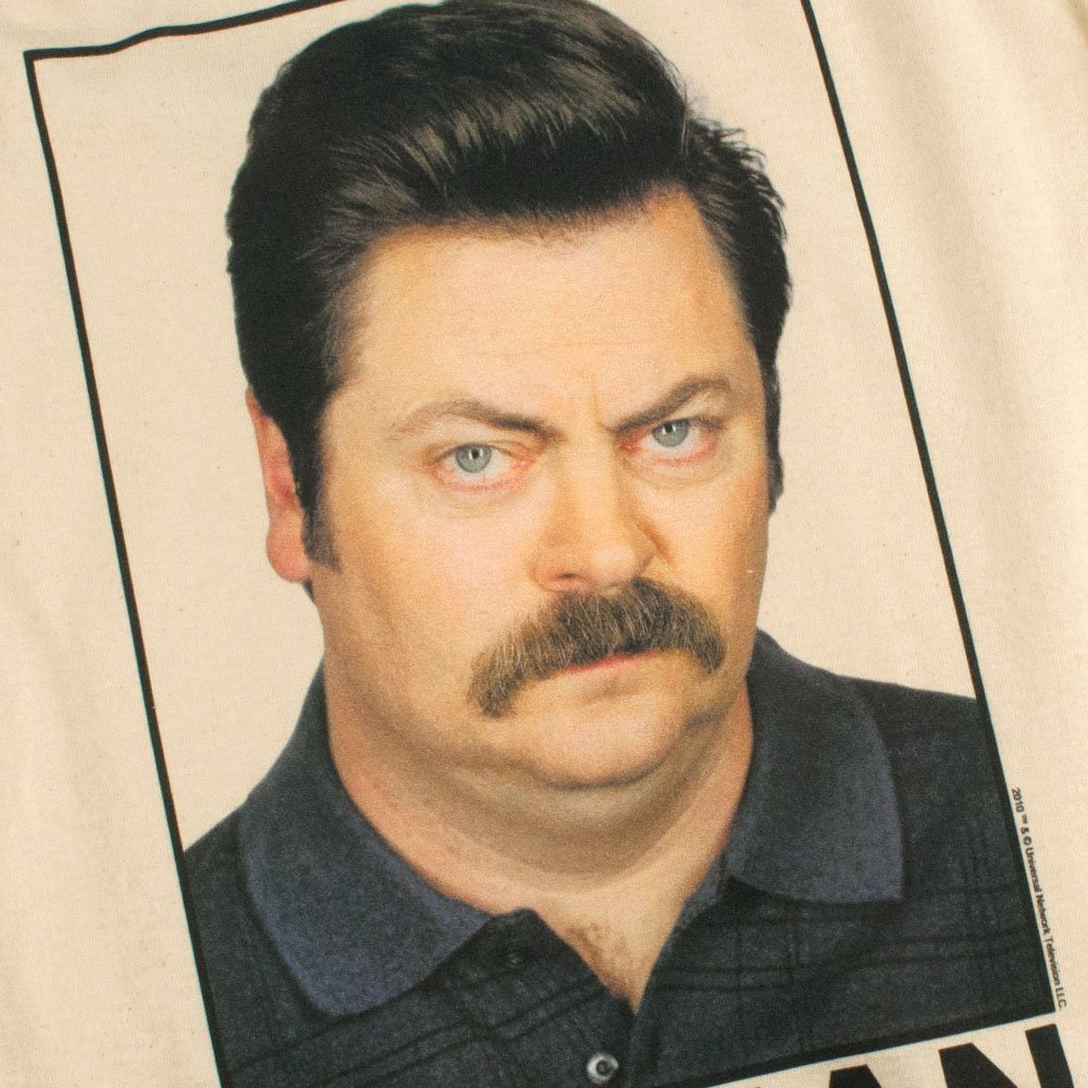 Amazon Popfunk Parks Rec Ron Swanson Woman Of The Year T