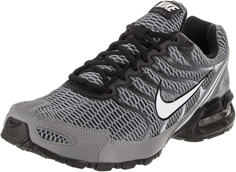 02ccefcf9e10 NIKE Mens Air Max Torch 4 Running Shoe Cool Grey White Black Pure