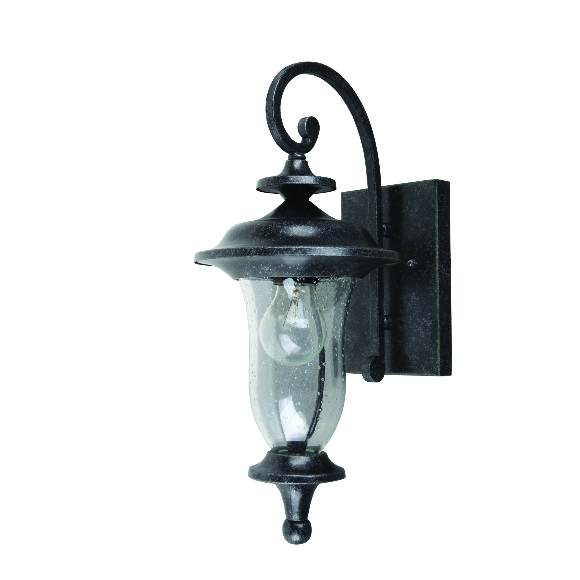 Yosemite Home Décor 8001ST-1S Fig Garden Collection One Light Exterior, Stone Finish