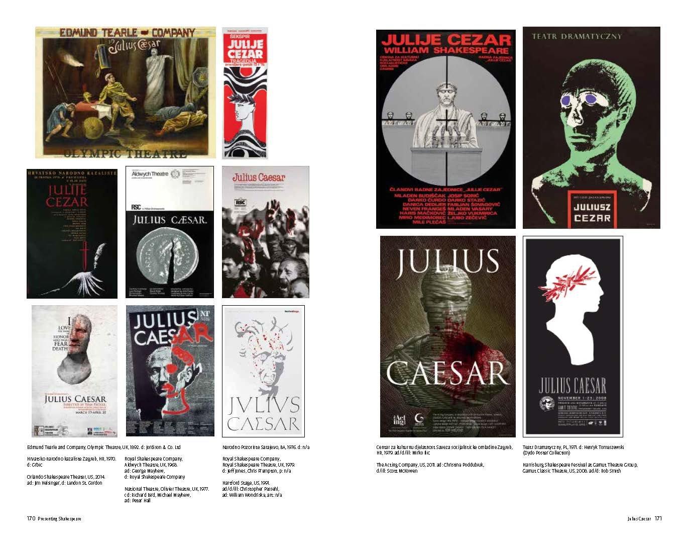 Presenting Shakespeare: 1, 100 Posters from Around the World: Mirko Ilic,  Steven Heller, Julie Taymor: 9781616892920: Amazon.com: Books