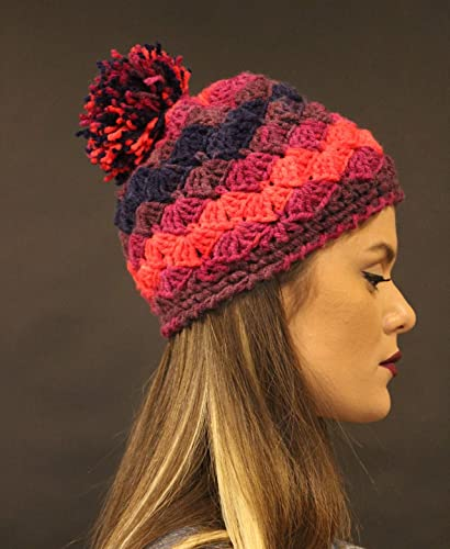 ef313f521b3 Amazon.com  Hand Knitted Hat for women