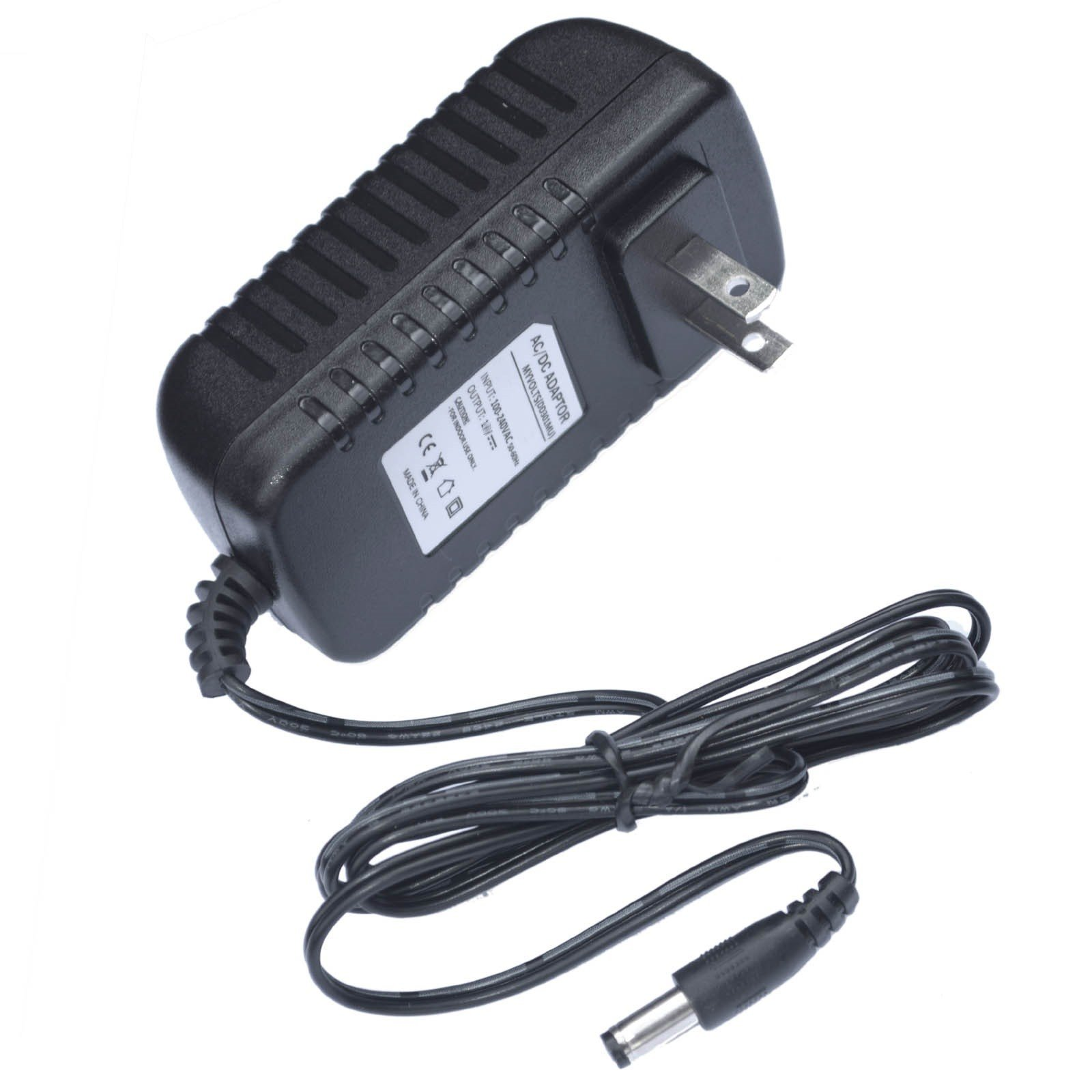 MyVolts 12V Power Supply Adaptor Compatible with Vonage V-Portal ATA - US Plug by MyVolts