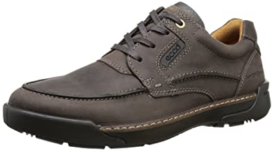 ECCO Men's Dason Toe Tie Oxford,Coffee,40 EU/6-6.5 M