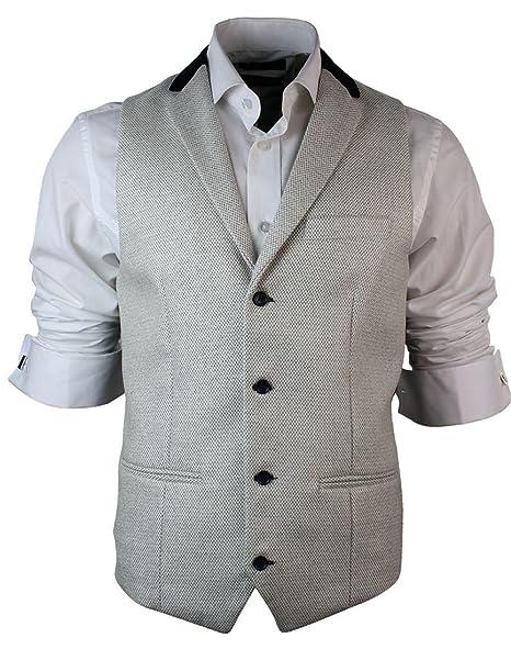 Amazon.com: Marc Darcy para hombre vintage retro Tweed ...