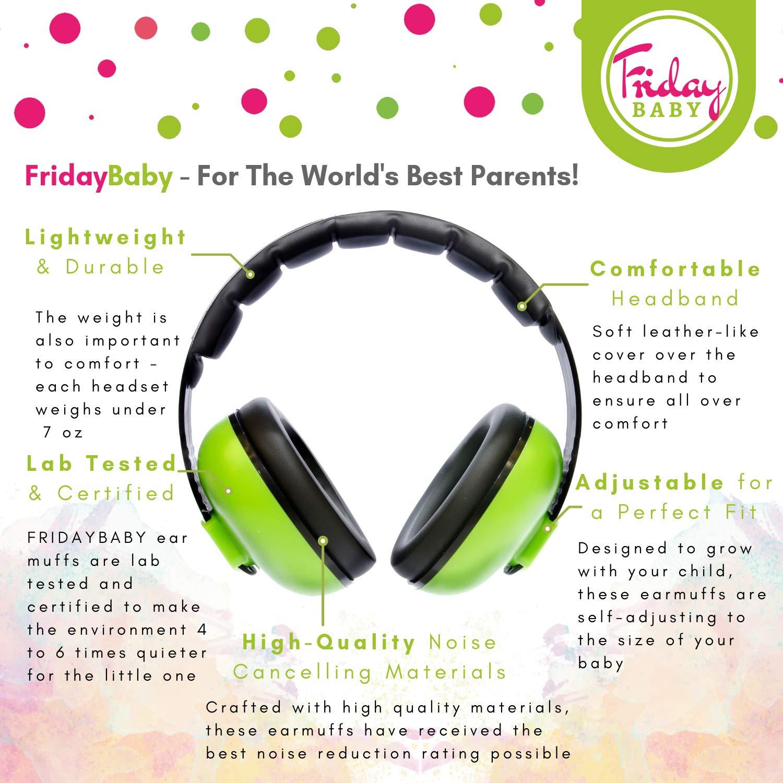 Amazon.com: Fridaybaby - Protección para los oídos del bebé ...