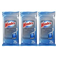 Deals on Windex Electronics Wipes, 25 ct