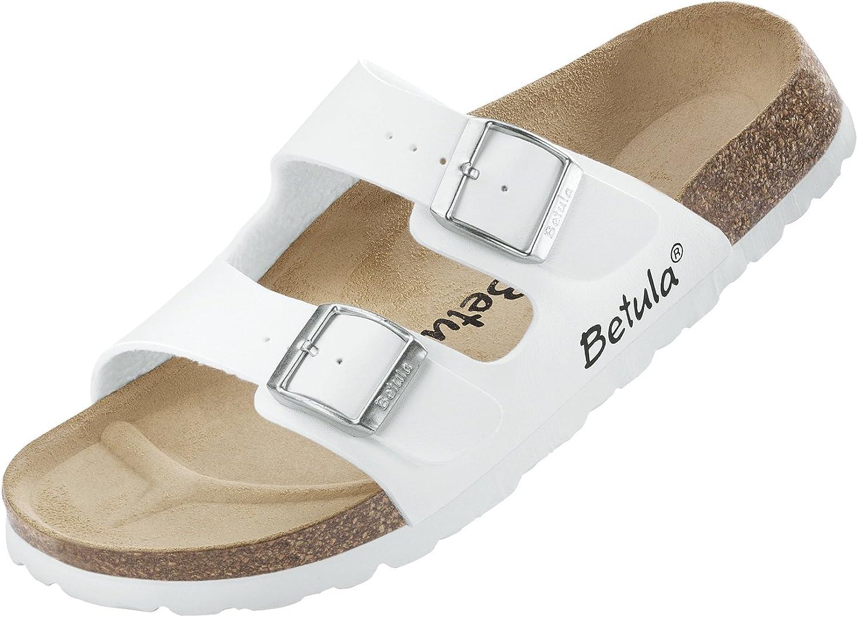 Betula By Birkenstock White Boogie Sandals