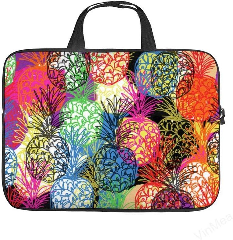 Laptop Sleeve Handle Bag Pineapple Party Neoprene Case Protective Bag,Portable MacBook Laptop,Ultrabooks Case Bag Cover 12 Inch