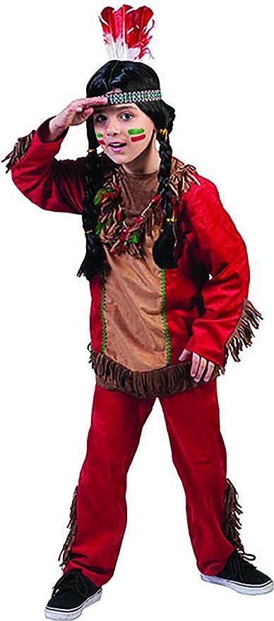 chamboolee – Süßes indios Disfraz Para Niño Boy, 116 – 170, 6 – 15 ...
