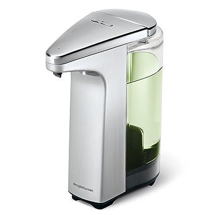 simplehuman - Dispensador de jabón con sensor y muestra de jabón