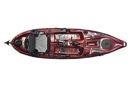 Amazon Com Riot Mako 10 Angler Sit On Top Kayak With