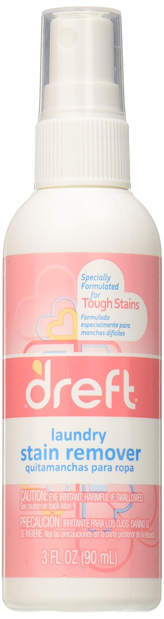 Dreft Laundry Stain Remover, Travel Size, 3 Fluid Ounce