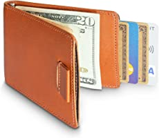 HUSKK Leather Wallet for Men - Credit Card Sleeve Holder