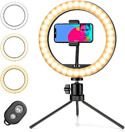 Pipishell Ringleuchte Selfie Ringlicht Mit Kamera