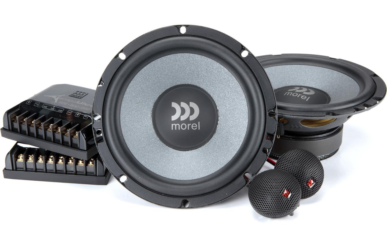 Morel Tempo Ultra 602 6-1/2'' Component Speaker System