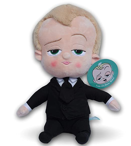 Un jefe en pañales Peluche Bebé Templeton 25cm The Boss Baby Dreamworks Super Soft: Amazon.es: Juguetes y juegos
