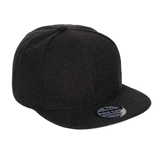 6773db80 Shinabro Texture Plain Blank New Generation Antifa Hip Hop Flat Bill Brim  Baseball Cap Hat Classi