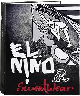 El Niño Carpeta Folio 4 Anillas Lomo Ancho (SAFTA 511732657)