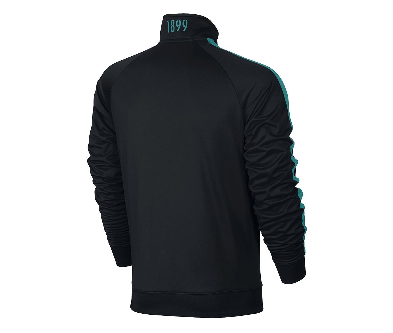 60672f810ad Amazon.com   Nike Barcelona Core Soccer Jacket 2016 2017 (Black ...