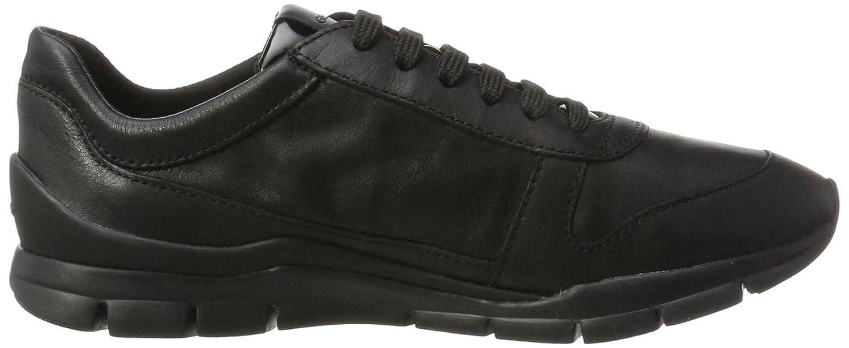 Geox Schwarz Damen D Sukie A Sneaker Schwarz Geox (schwarz/schwarz) 0c6764