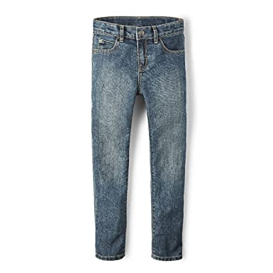 2a0484c6bcaa The Children's Place Boys Slim Size Skinny Jeans, Tide Pool, ...