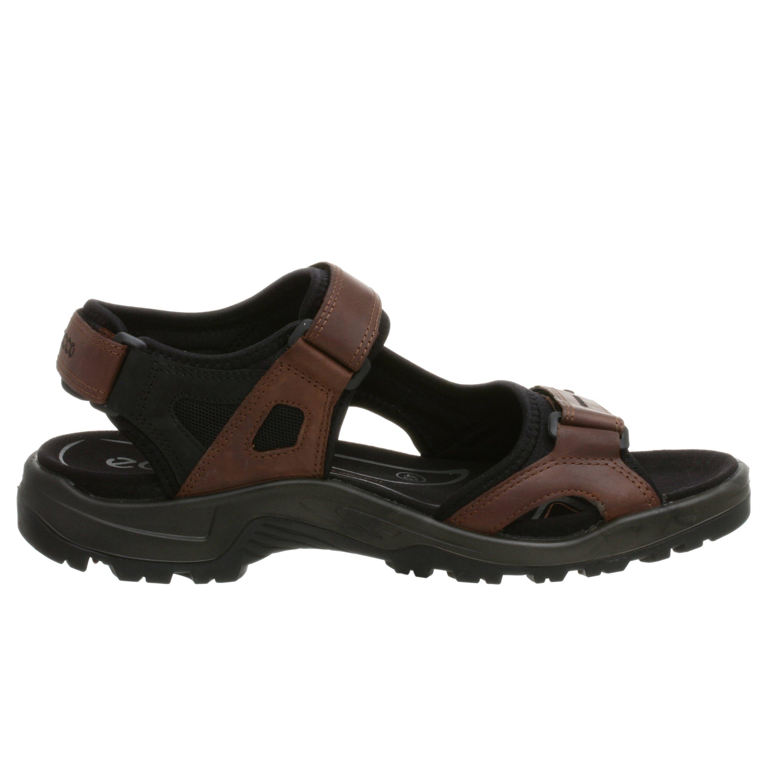 ECCO Men's Yucatan Sandal,Bison/Black/Black,44 EU (US Men's 10-10.5 M) by ECCO (Image #6)