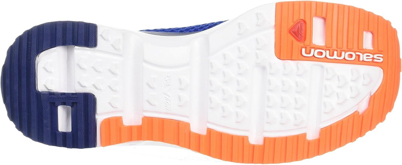 SALOMON RX Moc 3.0, Stivali da Escursionismo Uomo Blu Scuro Arancione Surf The Web White Shocking Orange
